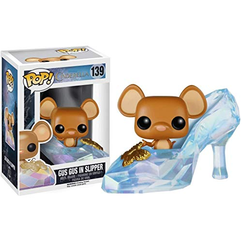 Funko Pop Movies : Cinderella - Gus Gus in Slipper 3.75inch Vinyl Gift for Anime Fans SuperCollection