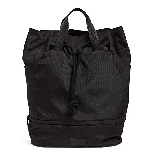 Vera Bradley Women's Recycled Lighten Up ReActive Sport Gym Bag, Black