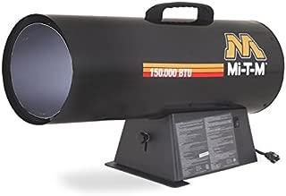 Mi-T-M MH-0150-NM10 Natural Gas Forced Air Portable Heater, 150 000 BTU