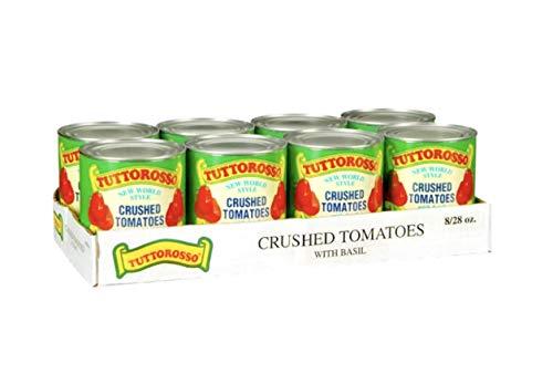Tuttorosso Crushed Tomatoes w/ Basil - 8/28 Oz.