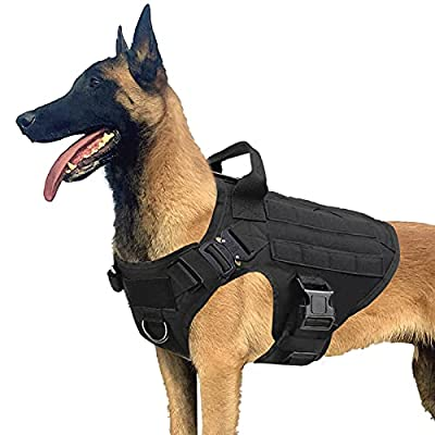 Amazon - 35% Off on  Tactical Dog Harness, Military Style Dogs Vest