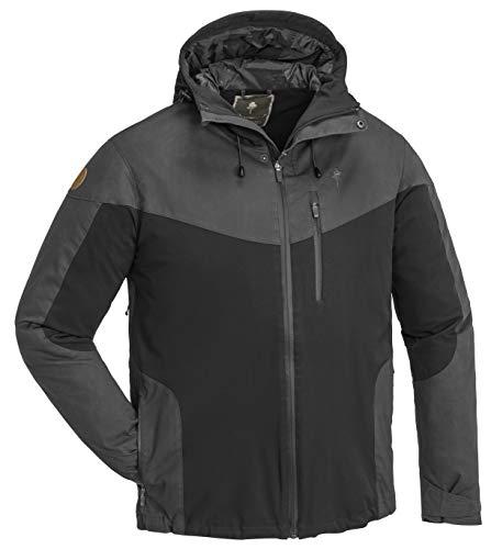Pinewood Herren Finnveden Hybrid Extrem Jacke, Black/Dark Anthrazit, XXL