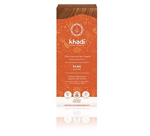 Khadi Bio - Couleur végétale cheveux en poudre cuivre
