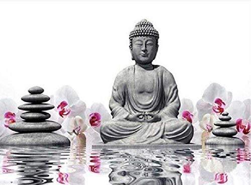 Puzzle 1000 Piezas,Buda Adulto Sentado En Loto Decoración