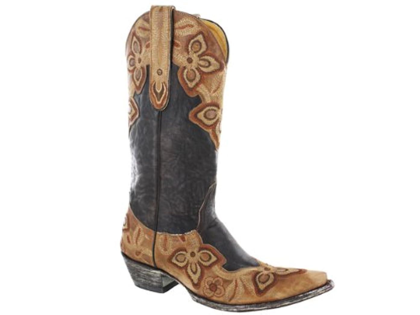 抽出解体する結婚した[Old Gringo] 新しい Marrioneオニキス/チョコレート7.5?Womens Western Boots