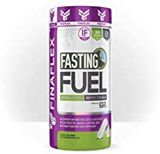 Fasting Fuel Support Intermittent, Keto, and Water Fasting, Electrolytes, Aminos, Caffeine, BHB, Power Through Fasts with Ease (30 Servings)