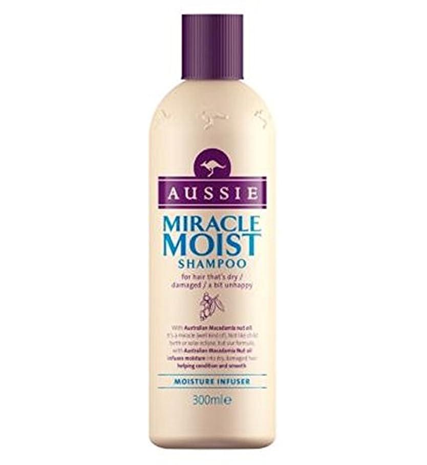 利用可能印刷する折り目Aussie Miracle Moist Shampoo 300ml - オージー奇跡湿ったシャンプー300ミリリットル (Aussie) [並行輸入品]