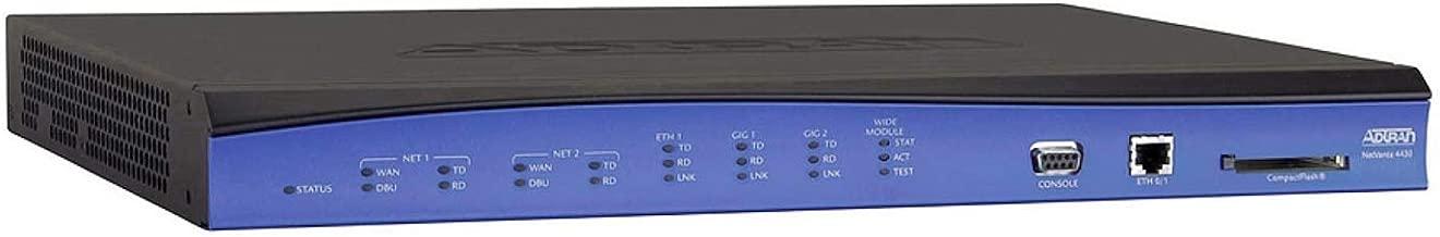 (Renewed) Adtran NetVanta 4430 Access Router (PN: 1700630E1)