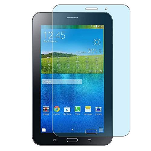 Vaxson 2 Unidades Protector de Pantalla Anti Luz Azul, compatible con Samsung Galaxy 3 V T116NU 7' [No Vidrio Templado] TPU Película Protectora
