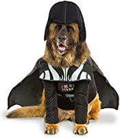 Rubie's Star Wars Darth Vader Pet Costume With Removable Cape