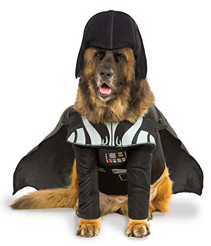 Rubies Disfraz Oficial de Star Wars Darth Vader para Perro, Perro Grande