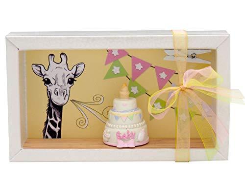 ZauberDeko Geldgeschenk Verpackung Mädchen Baby Geburt Taufe Giraffe Torte Geschenk