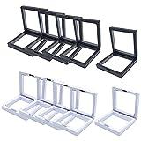 Jewelry Storage Box, Transparent 3d Floating Frame Display Holder/box/frames Pe Film Jewelry Storage Box Transparent Jewelry Storage Rack (10pcs99)