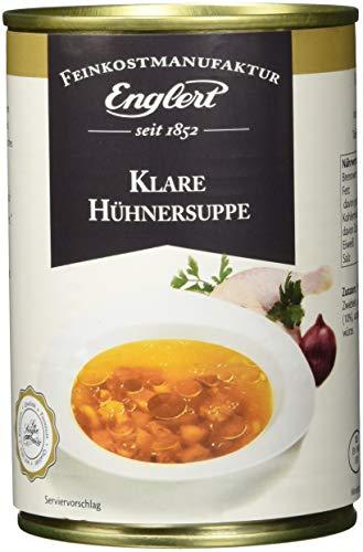 ENGLERT Klare Hühnersuppe/Dose, 3er Pack (3 x 390 ml)