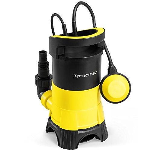 TROTEC TWP 4025 E Schmutzwasser Klarwasser Tauchpumpe, 400 Watt Leistung