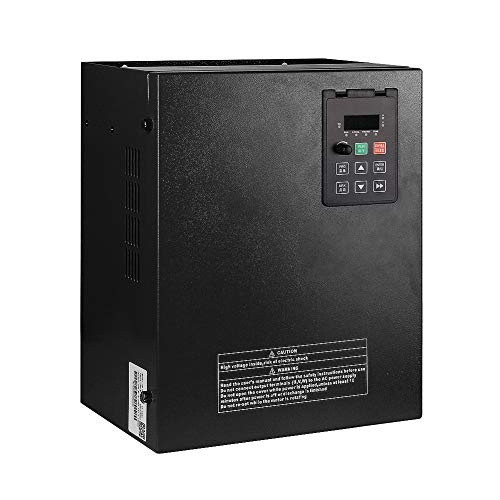 LAPOND High Performance Variable Frequency Drive VFD Inverter VFD Drive 10HP 7.5KW 220V 32A for Motor Speed Control,V8 Series(7.5KW)
