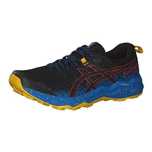 ASICS 1011A700-002_42,5, Zapatillas de Running Hombre, Noir Bleu...
