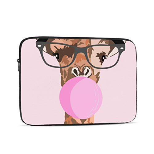 Macbook Air 13 Case Cool Giraffe Baby Kids Animal Macbook Air 1466 Case Multi-Color & Size Choices10/12/13/15/17 Inch Computer Tablet Briefcase Carrying Bag