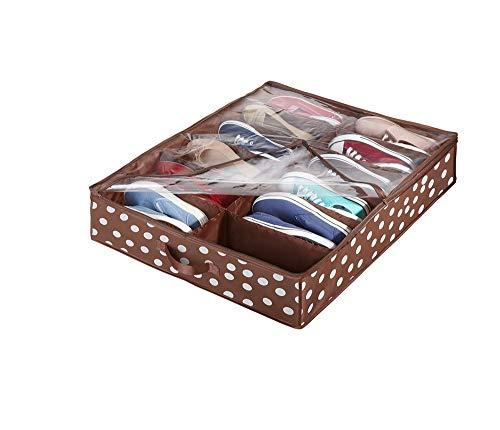 Wenko Unterbettkommode für Schuhe Pretty Woman - Bis zu 12 Paar Schuhe sicher verstauen - Ideal für Damen- und Herrenschuhe, Accessoires, Wäsche und mehr