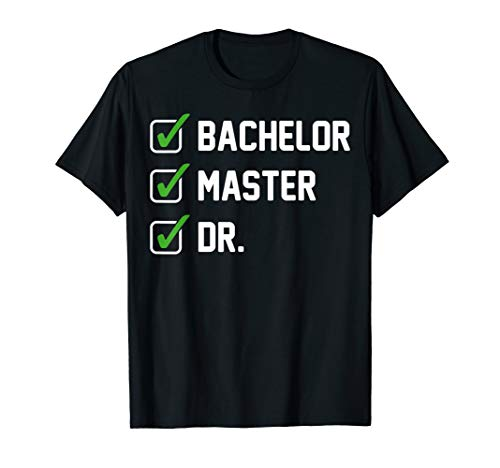 Doktortitel Dissertation Doktorand Doktorgrad Geschenk T-Shirt