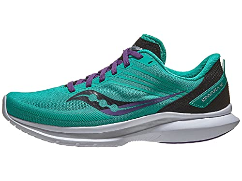 Saucony Womens Running Shoes, W Kinvara 12 - Jade/Concord, 8