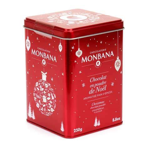 Monbana Chocolate Powder Gewürzkuchen - Kakao Weihnachtsmischung 250g