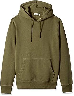 Amazon Brand - Goodthreads Men's Pullover Fleece Hoodie, Olive, Medium by Beacon Impex
