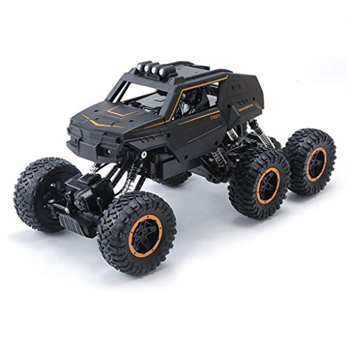 6WD Remote Control Auto Bigfoot Seltsame Cross-Country High-Speed ​​1/12 Verhältnis Mountainbike 2,4 GHz Outdoor Remote Control Auto Kletterwagen Kletterfelsen Klettern alle Geländewagen ( Size : 51 )