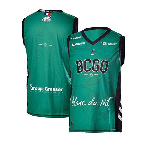 Basket Club Gries Oberhoffen Bcgo Maillot Officiel Domicile Saison 2018-2019 Basketball Enfant BCGO Gries Oberhoffen