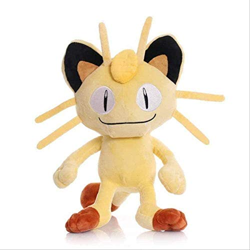 N-R Plush Toy Lovely Anime Periphery Stuffed Claw Cartoon Machine Doll Children s Day Gift- 30cm Meowth Birthday Gifts
