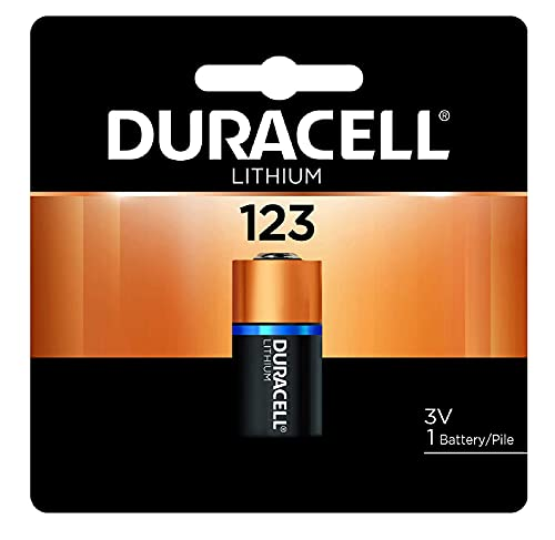 Duracell – 123 3V Lithium Photo Size Battery – long lasting battery (Pack of 36)