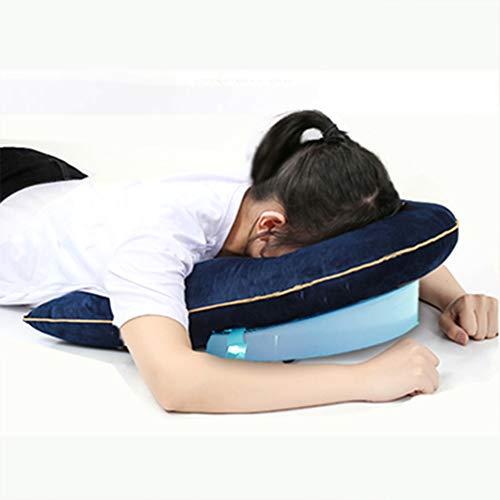 YUXINCAI Almohada De Apoyo para La Cabeza/Hombros - Almohada Facial para Dormir para Pacientes con Vitrectomía Y Desprendimiento De Retina Durante La Recuperación, Regulable En Altura
