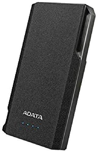 ADATA S10000 Power Bank, 10000 mAh, Schwarz