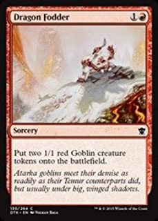 Magic: the Gathering - Dragon Fodder (135/264) - Dragons of Tarkir