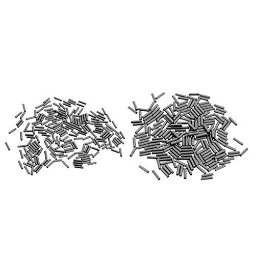 Générique Lot de 400 Pinces de pêche Simples en cuivre pour Tuyau de pêche