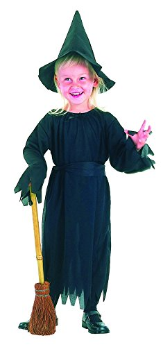 DC Costume Deguisement SORCIERE Fille - 3 Pièces - Fille 3/4 Ans