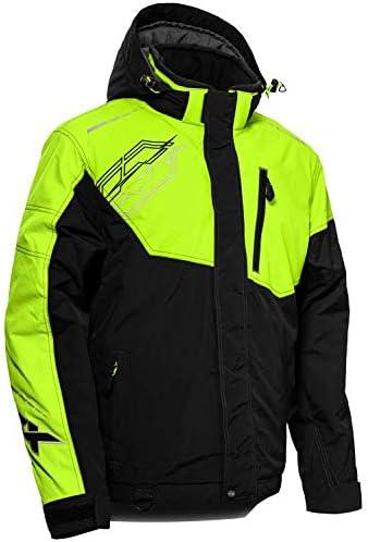 Castle X Men's Phase Jacket in Black/Hi-vis Size Medium