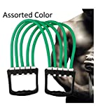 HOLME'S Adjustable Multi-Function 5 Rubber Tubes Chest Expander/Chest Developer/Rubber Rope/Chest Flexor/Muscle Pulling Exerciser/Muscle Workout Stretcher Home & Gym Equipment
