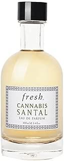 Fresh Cannabis Santal Eau de Parfum Spray for Men and Women (Unisex) Perfume - (3.4 oz / 100ml)