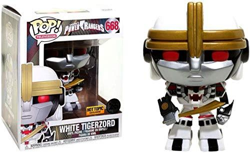 Funko Pop! Television #668 Power Rangers White Tigerzord (Hot Topic Exclusive)