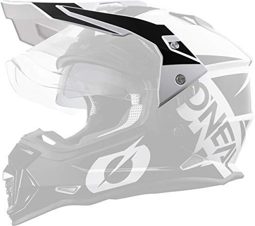O'NEAL Sierra R Visor Visera para casco negro/blanco Oneal
