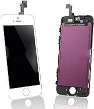 شاشة ايفون 5 اس خارجية   داخلية اللون ابيض