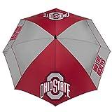 "Team Effort Ohio State Buckeyes 62"" Windsheer Lite Golf Umbrella"