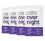 Oats Overnight Dairy-Free - Blueberry Cobbler - Premium High-Protein, Low-Sugar, Gluten-Free, Vegan...
