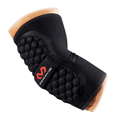 McDavid Handball Ellbogenschützer 672, black, x-small
