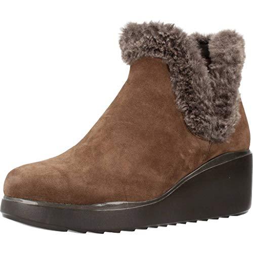 Stonefly Bottines - Boots, Couleur Marron, Marque, modèle Bottines - Boots 211933 de Peau Marron