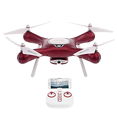 Goolsky Syma X25W Wifi FPV Adjustable 720P Camera Drone Optical Flow Positioning Altitude Hold Quadcopter