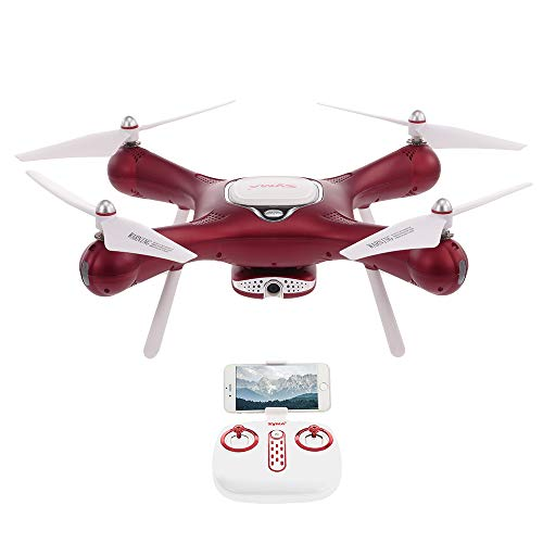 Goolsky Syma X25W Wifi FPV Ajustable 720 P Cámara Drone Optical Flow Positioning Altitude Hold Quadcopter