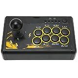 DWMD Controlador De Juegos Fighting Stick, Joystick De Juegos con Cable USB Sensible, Controlador De Lucha De Arcade Retro Ergonómico De Señal Estable, Consola De Juegos Gamepad para PS3 para PS4