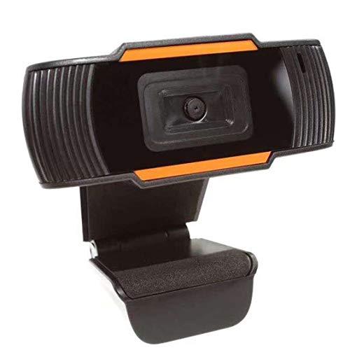 Jessicadaphne 30 Grad drehbare 2.0 HD Webcam USB-Kamera Videoaufzeichnung Webkamera mit Mikrofon für PC-Computer